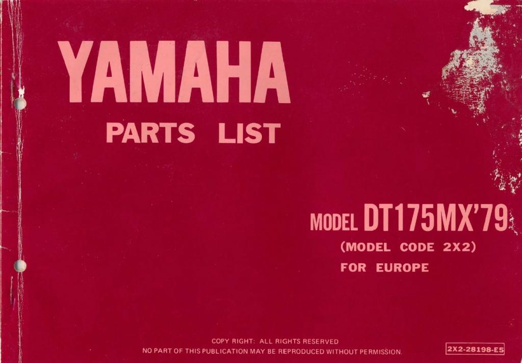 Restauration d'une Yamaha DT175MX 2K4 de 1979 Dt175m11