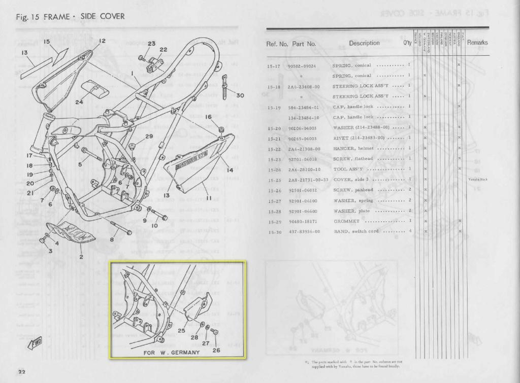 Restauration d'une Yamaha DT175MX 2K4 de 1979 Frame_10