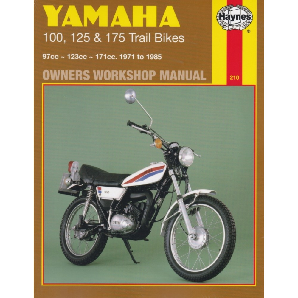 Restauration d'une Yamaha DT175MX 2K4 de 1979 Haynes10