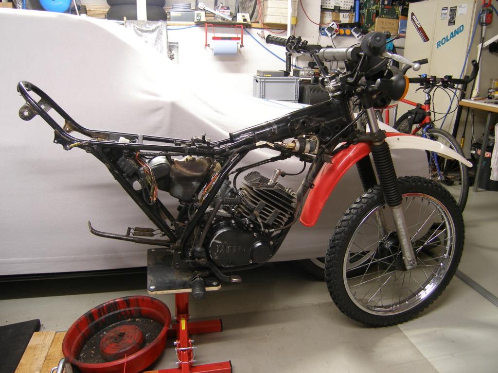 Restauration d'une Yamaha DT175MX 2K4 de 1979 P8058810