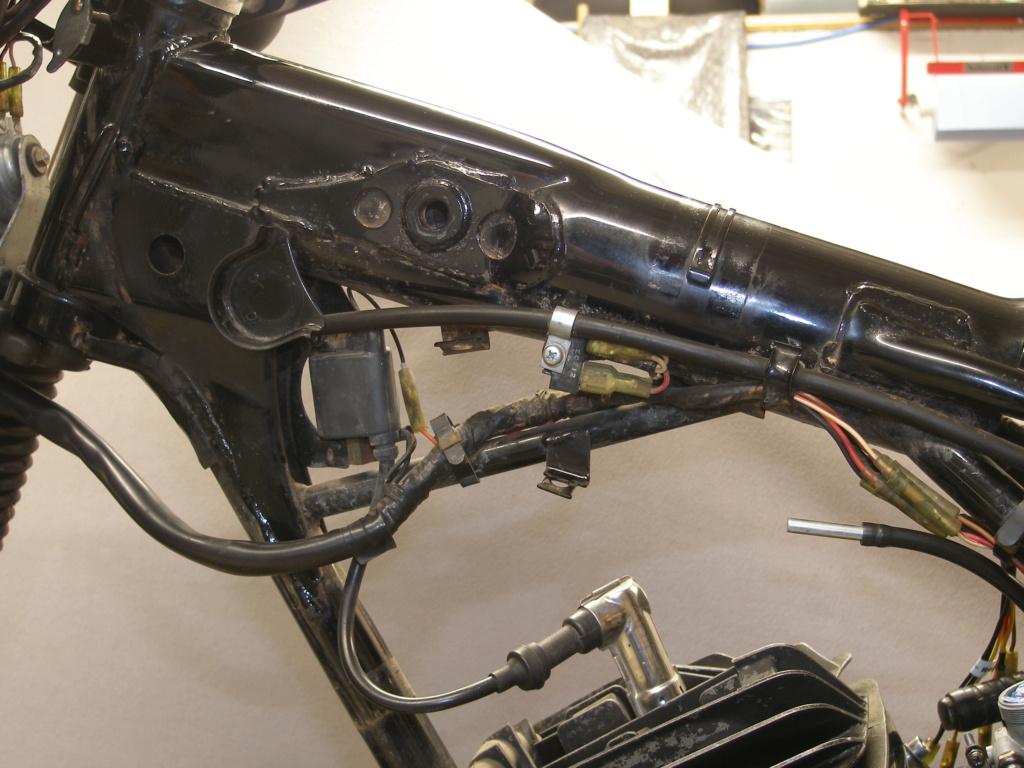 Restauration d'une Yamaha DT175MX 2K4 de 1979 P8149010