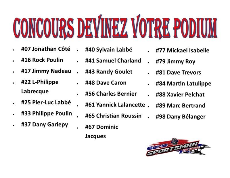 Serie Sportsman Québec : Concours Podium Parfait 25_jui10