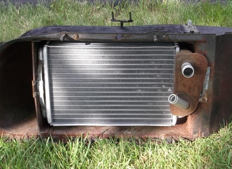 Radiateur de chaufferette / heater core Apres10