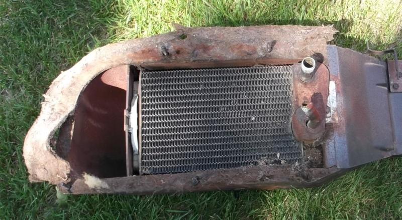 Radiateur de chaufferette / heater core Avant10