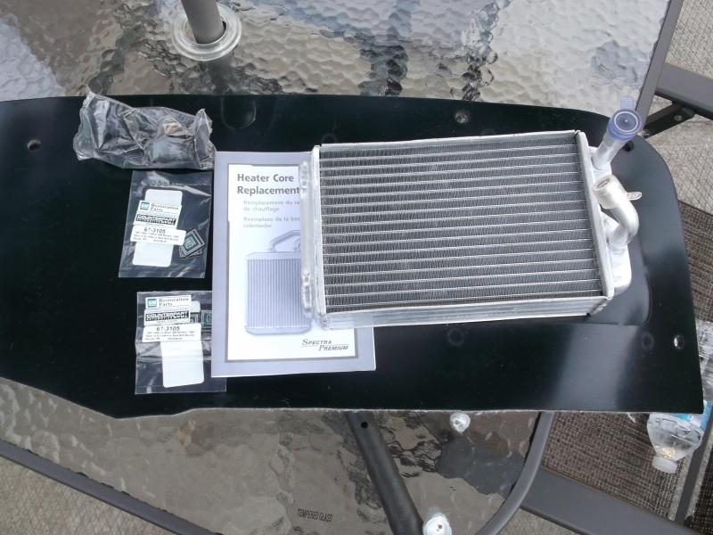 Radiateur de chaufferette / heater core Heater10