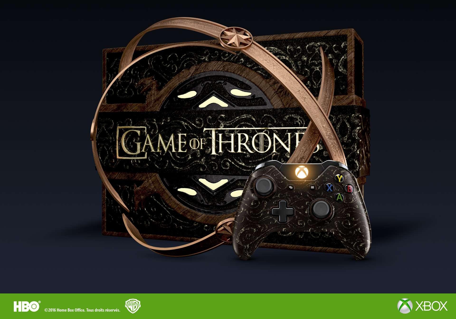 Xbox présente en vidéo la console Xbox One Game Of Thrones Edition ! #XboxLovesYou Cid_5d10