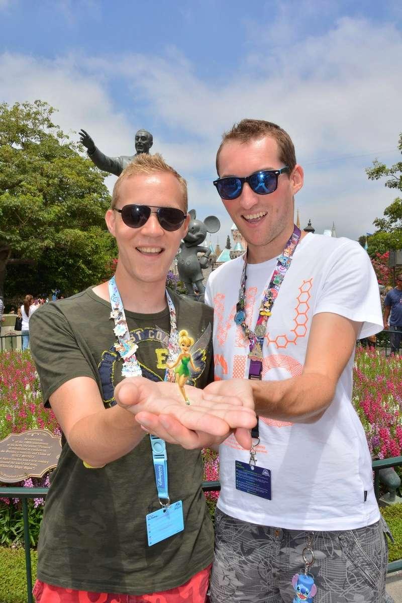 2 belges à Disneyland Anaheim :-)  Wdw20111