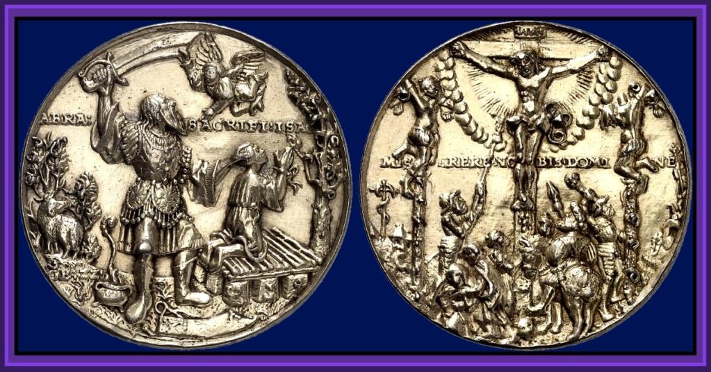 "Medallón de Giovanni Federico I de Sajonia ""el Magnánimo"" (1539) Medall10"
