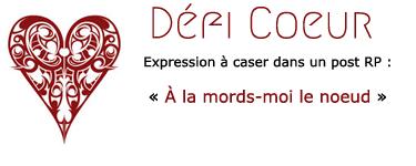 Défis de Carmin Alizarine Coeur115