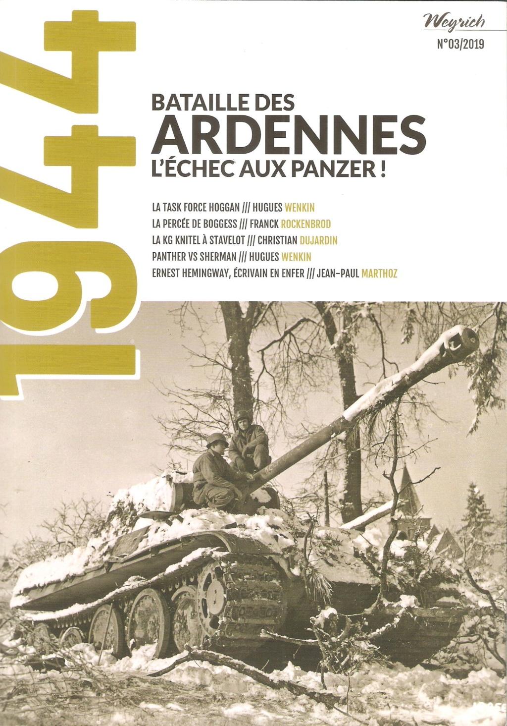 Mook 1944 - Batailles des Ardennes. L'échec aux Panzers Mook3c10