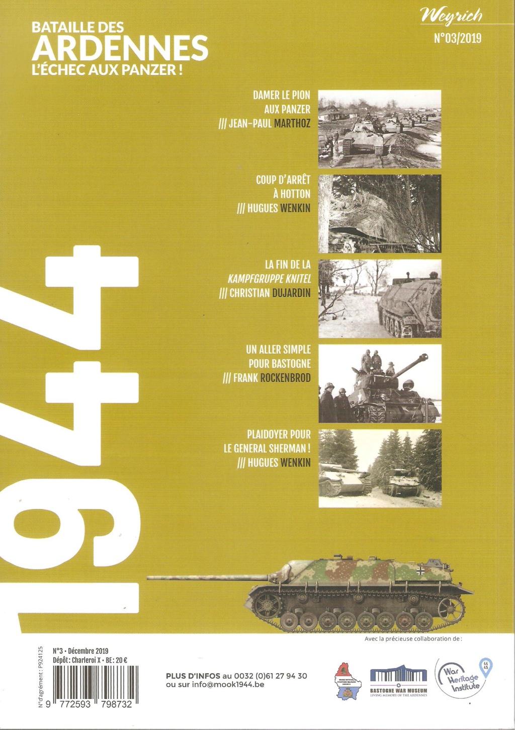 Mook 1944 - Batailles des Ardennes. L'échec aux Panzers Mook3s10