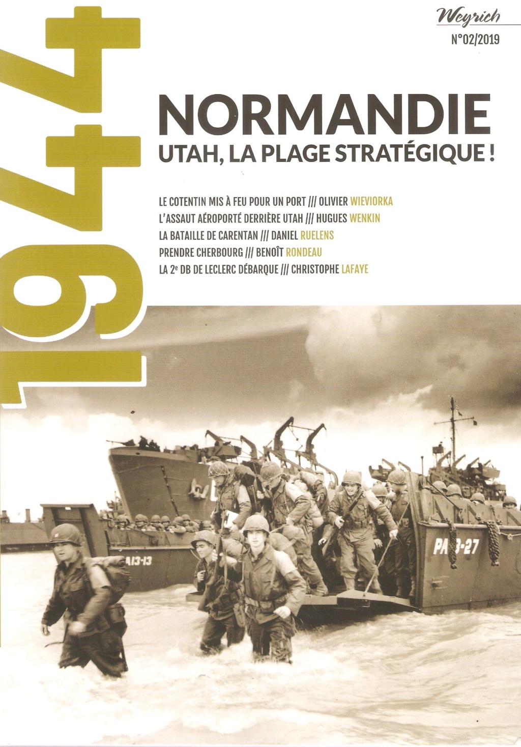"""1944 - """" Normandie - Utah, la plage stratégique"""" Utah110"""