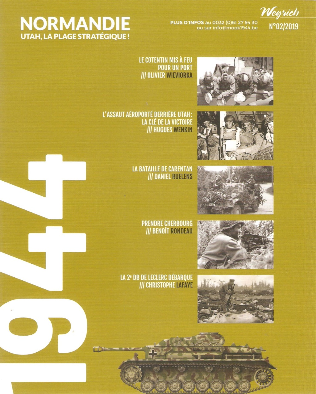 """1944 - """" Normandie - Utah, la plage stratégique"""" Utah210"""