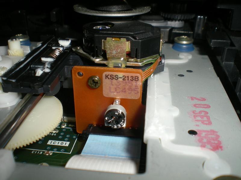 Platine CD SONY en panne Dscn8711