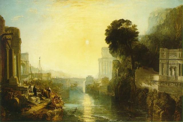 LES ŒUVRES DE WILLIAM TURNER (1775-1851) Didon_10