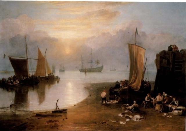 LES ŒUVRES DE WILLIAM TURNER (1775-1851) Lever_10