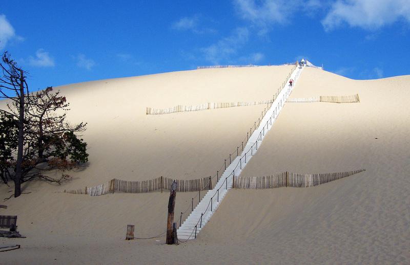 Dune du Pilat(33) (La plus haute dune de sable d ' Europe) Dune-o10
