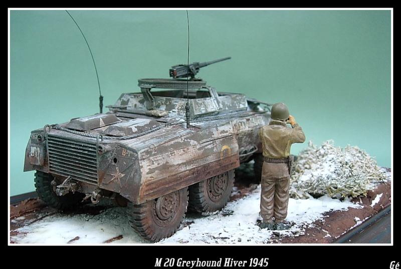 M 20 Greyhound 1/35 Tamiya hiver 1945 Dscn0027
