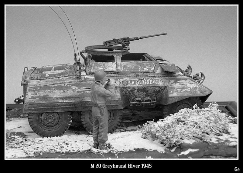 M 20 Greyhound 1/35 Tamiya hiver 1945 Dscn0028