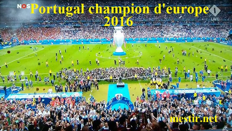 Portugal champion d'Europe 2016 13620710