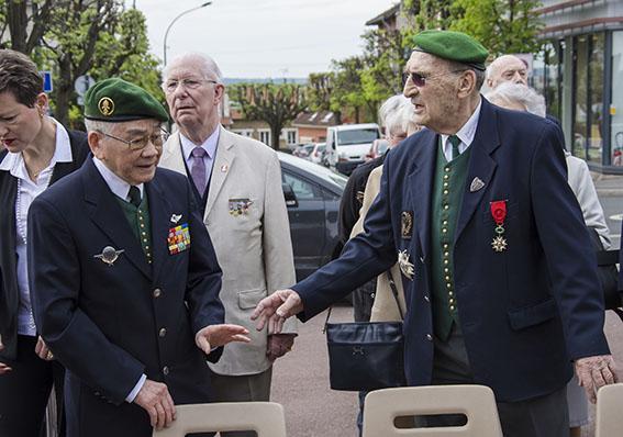 Lucien PIERS: invitation Cérémonie du 7 mai 2016 marquant le 62° anniversaire de la fin des Combats de Diên Biên Phu 06910