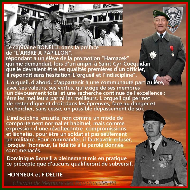 Suite à son décès, le Capitaine Dominique BONELLI recevra l'hommage de la nation aux Invalides, la cathédrale des soldats - Putsch d'Alger avril 1961