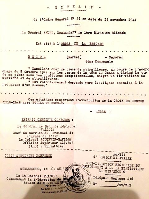 REITZ Marcel, Brevet 303 1er BPC 1er RCP Img_0012