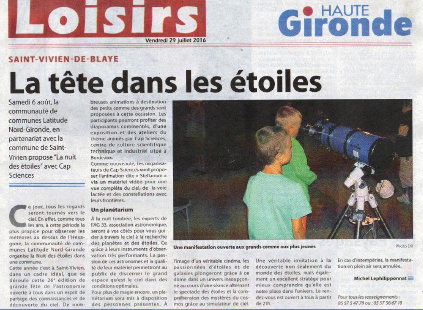NUIT DES ETOILES samedi 6 août 2016 Saint-Vivien de Blaye Haute_10