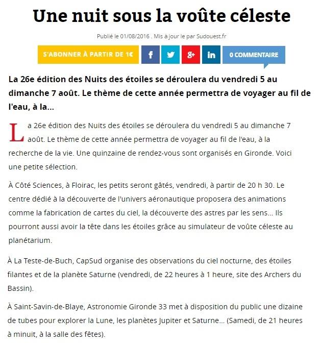 NUIT DES ETOILES samedi 6 août 2016 Saint-Vivien de Blaye Nde_2010