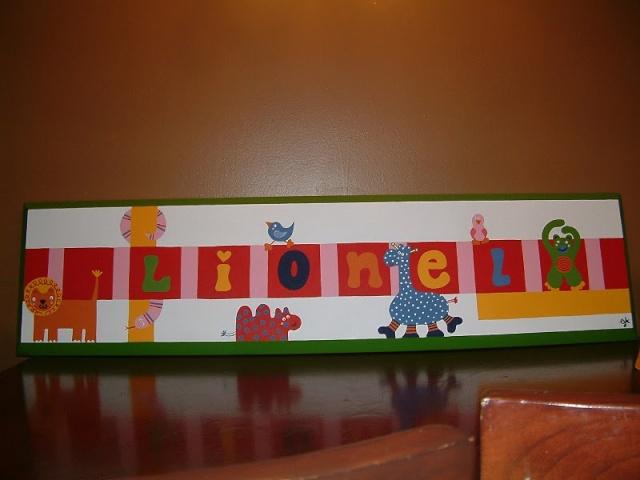 Toile acrylique pour chambre enfant et photo echographie!.. Toile_10