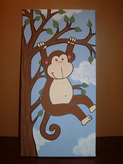 Toile acrylique pour chambre enfant et photo echographie!.. Toile_12