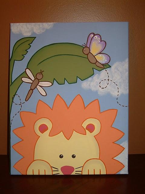Toile acrylique pour chambre enfant et photo echographie!.. Toile_13