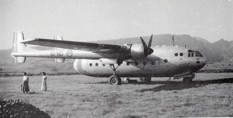 Noratlas n°49 fin de service 30 juillet 1971 4910