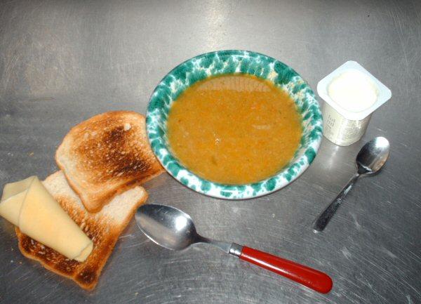 la soupe qui fait maigrir