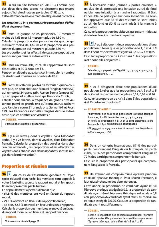 Pages du livre concernant la seconde leçon 3610