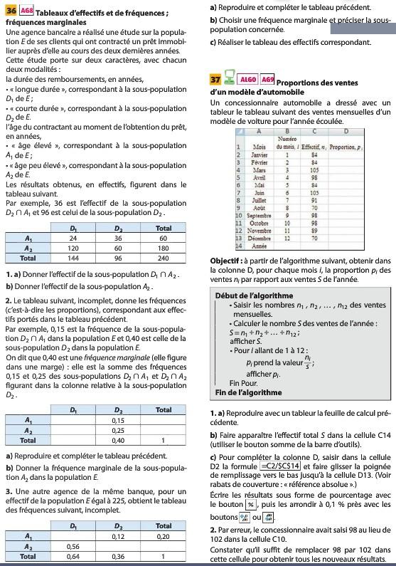 Pages du livre concernant la seconde leçon 4110