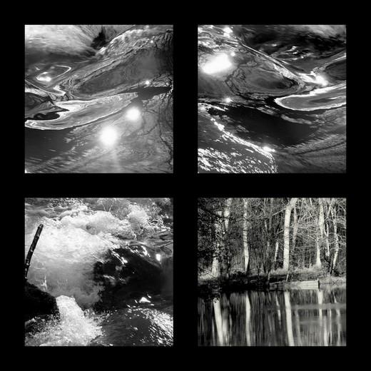 noir et blanc ,l'eau  Balade11