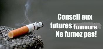 """"""" 1 Cigarette fumée = Moins 11 minutes de votre âge/an - Page 2 Fumer310"""