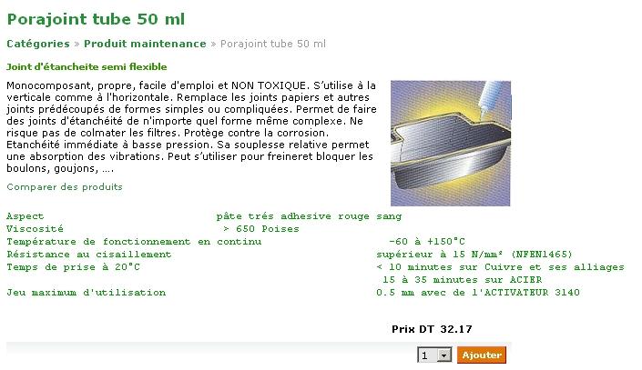 Réparation réservoir plastique, pot dtlc Pora10