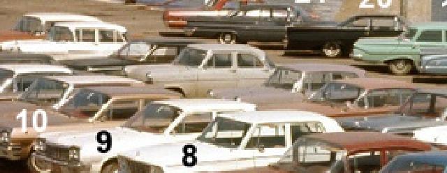 Identifiez le plus de (vieilles) voitures. Euro10
