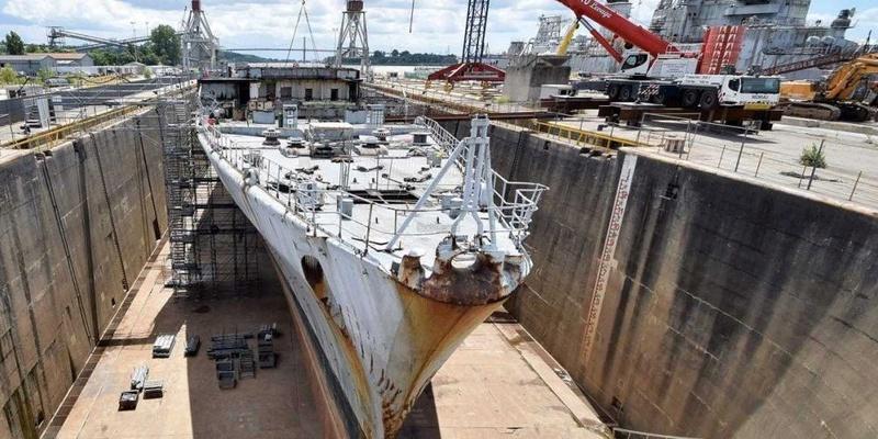 [Autre sujet Marine Nationale] Démantèlement, déconstruction des navires - TOME 2 - Page 20 Le-cha10