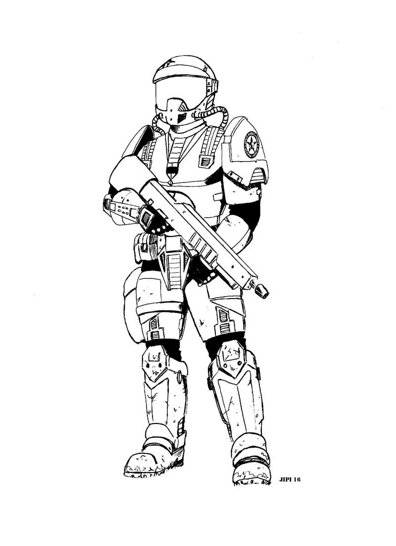 SPACE MARINES (dessins) Space_10