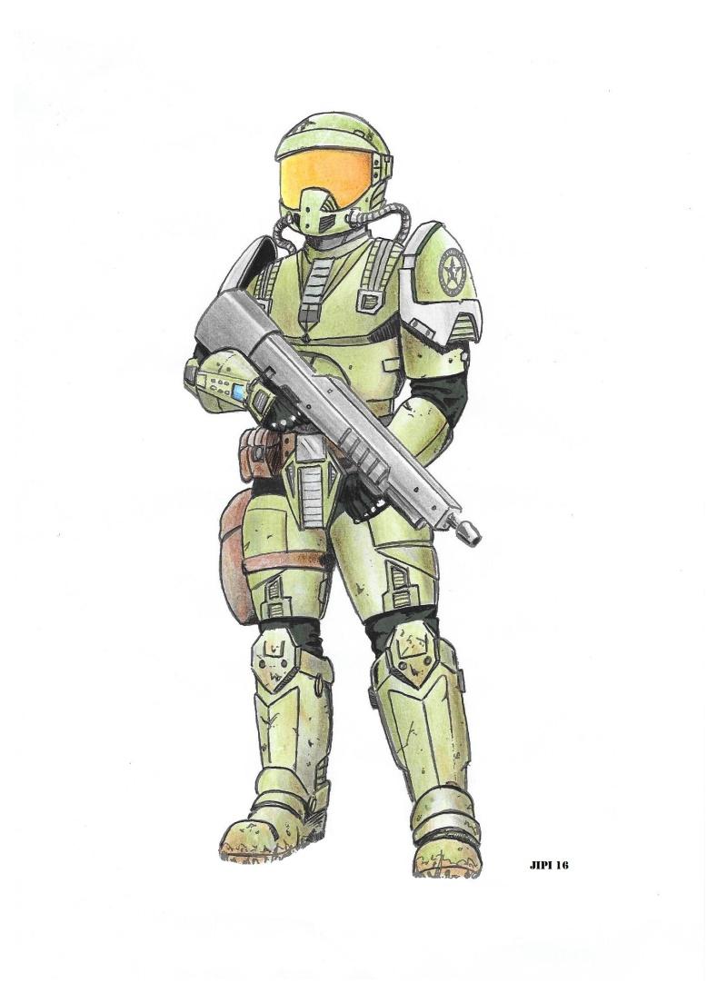 SPACE MARINES (dessins) Space_11