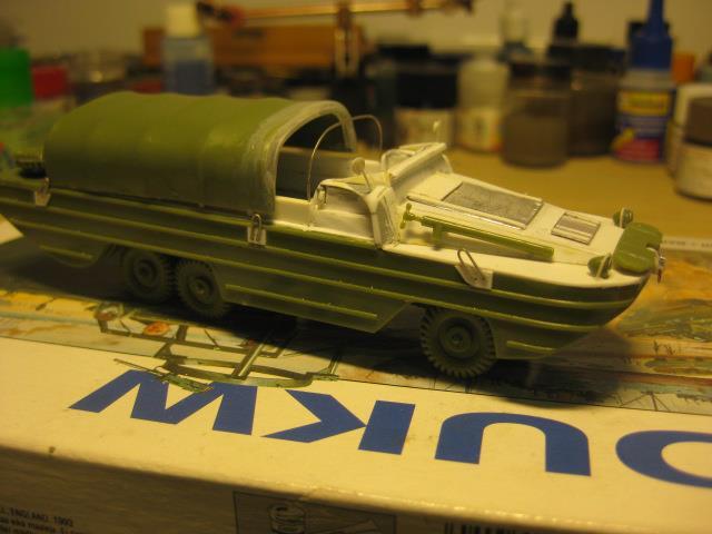 Mon dukw au 1/76 Airfix 60175910