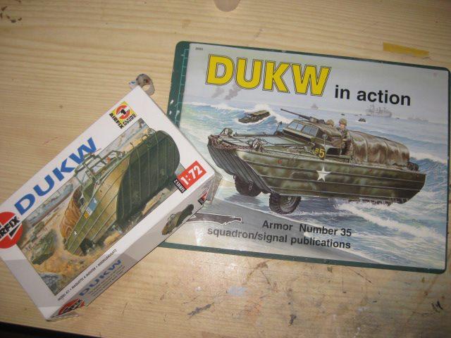 Mon dukw au 1/76 Airfix 93637310