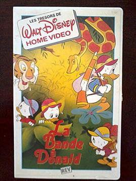 VHS : Les cassettes Disney en France ! 20160712