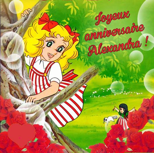 Joyeux anniversaire, Alexandra ! Alex10