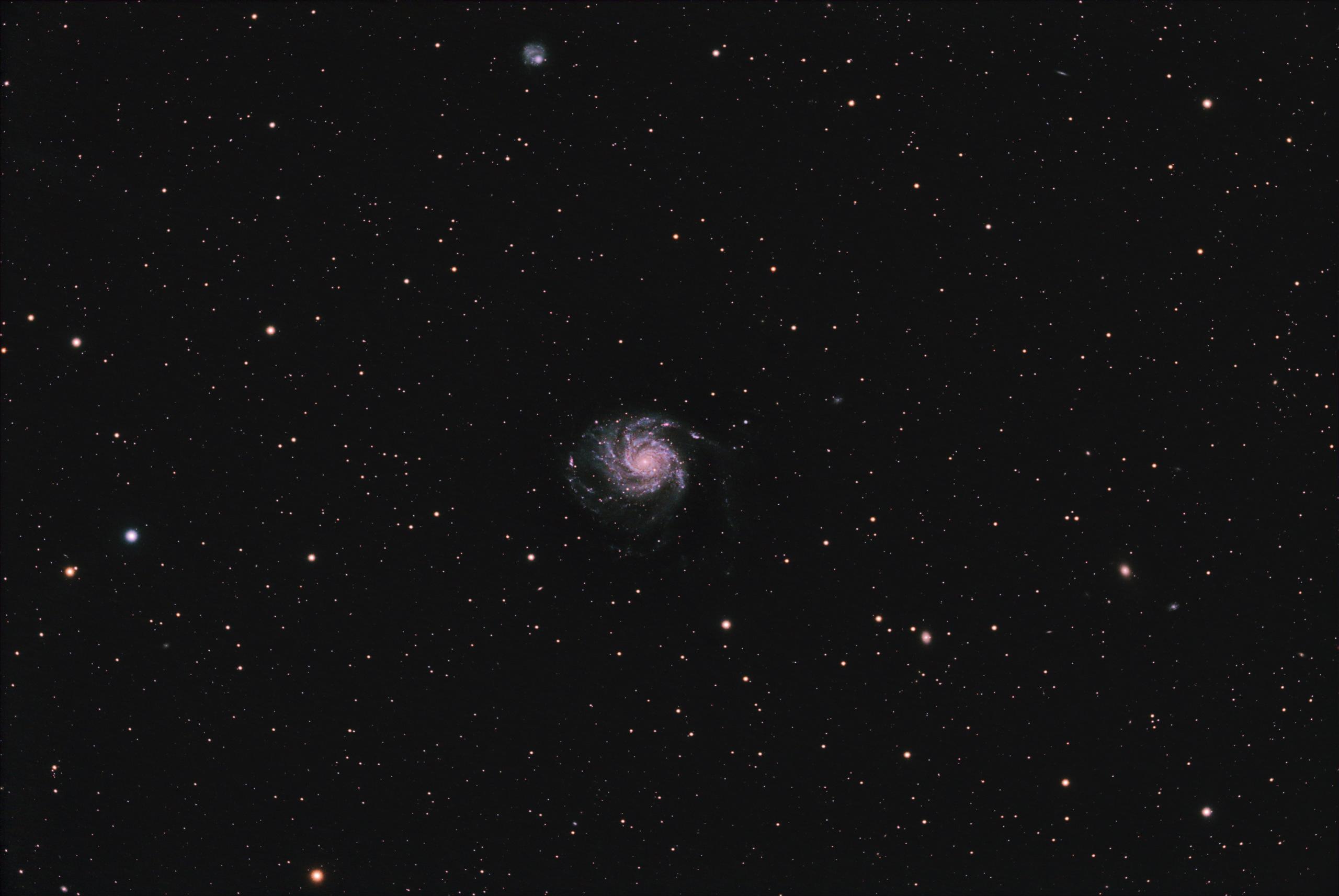 M101 - La Galaxie du Moullinet dans la Grande Ourse 16bitc10