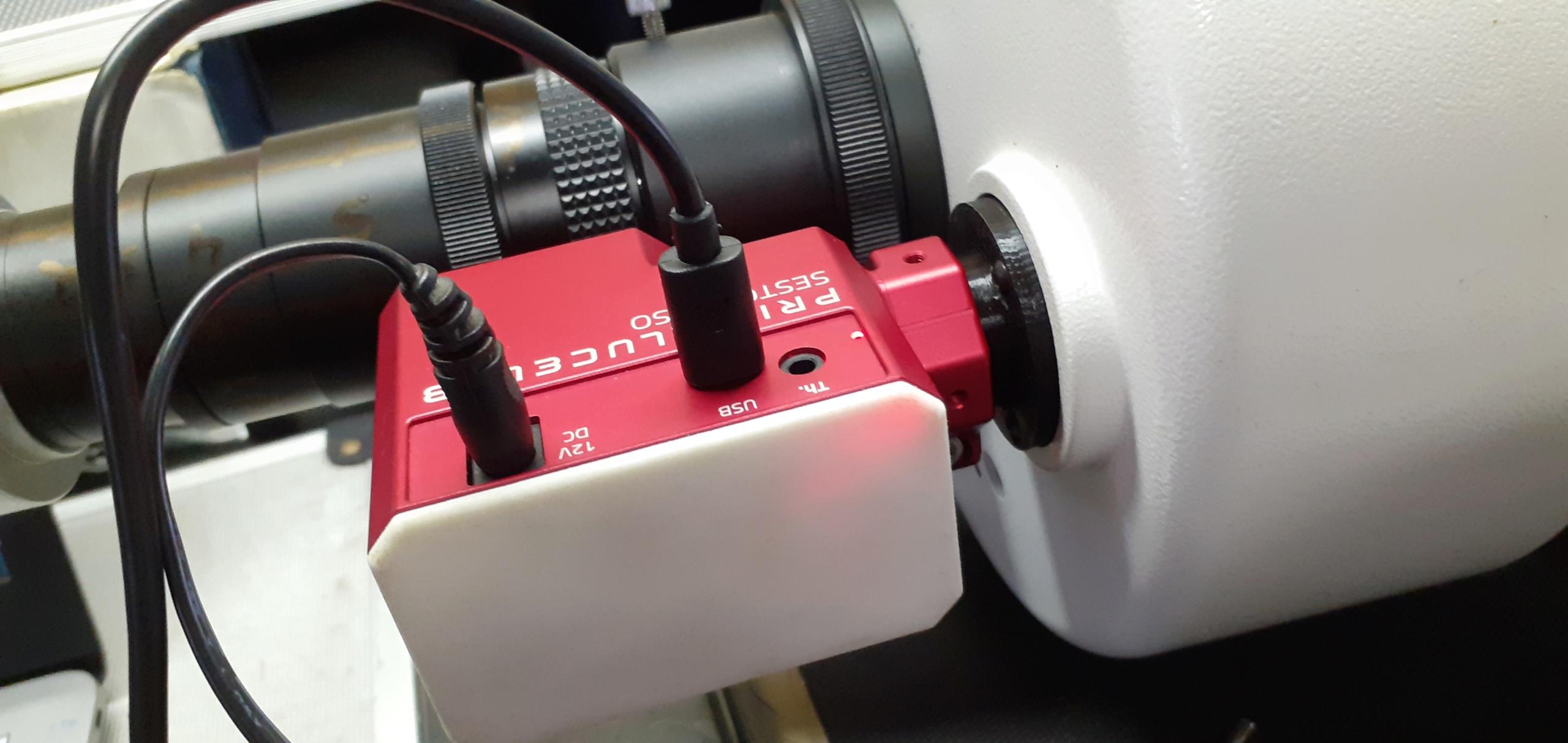 Impression 3D pour le Mak180 et le focuser Sesto Senso 20200613