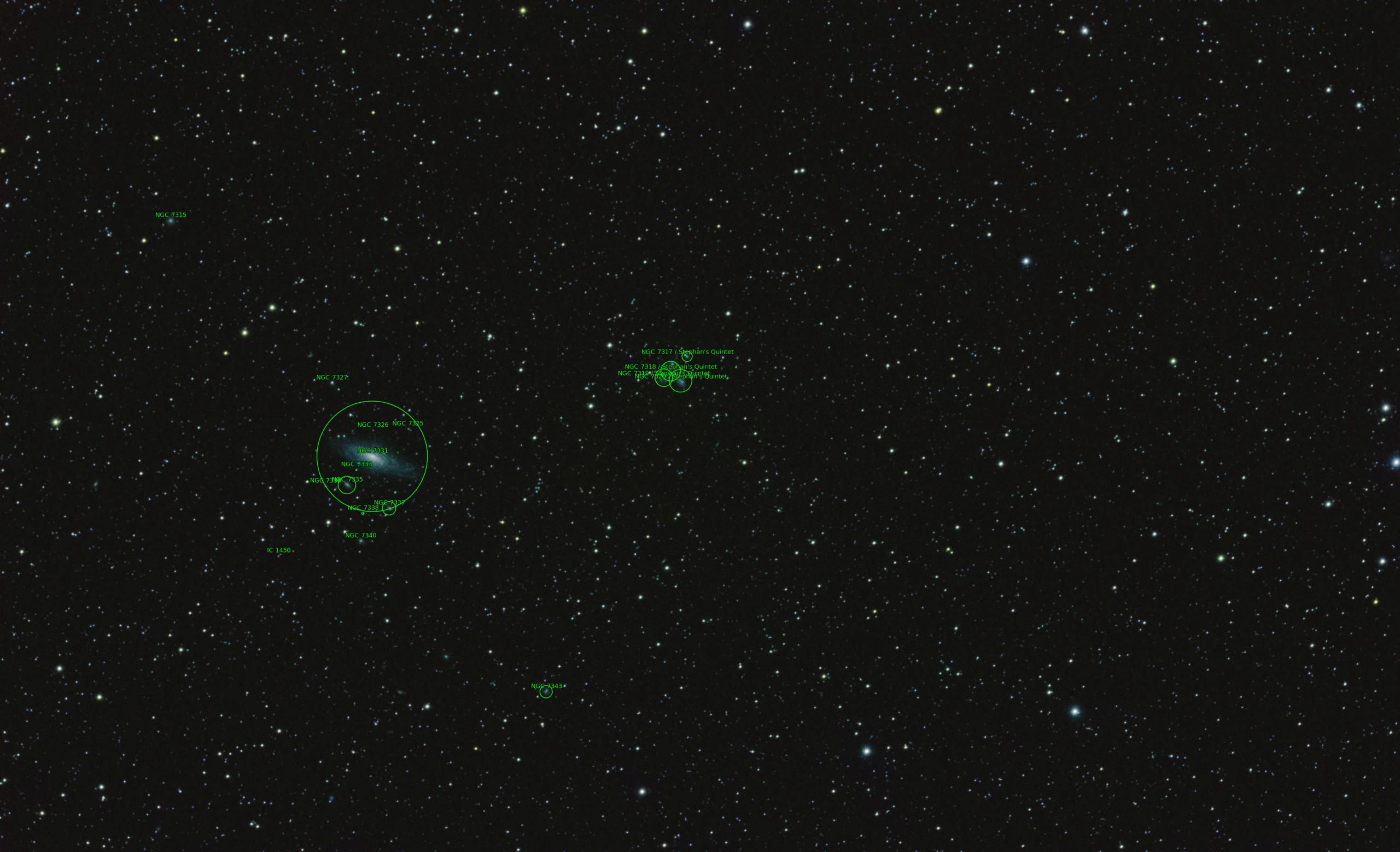 Observation du  17 Aout 2018 - Le Quintette de Stephan 27316110